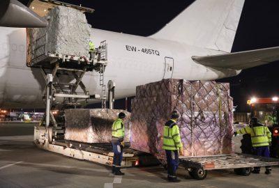 เครื่องบินอีก 2 ลำพร้อมอุปกรณ์ที่ซื้อโดยเซอร์เบียมาถึงโดยความร่วมมือกับ EU