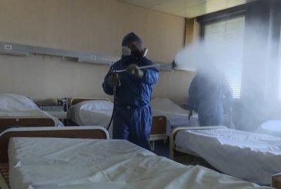 ผู้เชี่ยวชาญทางทหารรัสเซียฆ่าเชื้อโรงพยาบาล 3 แห่งในกรุงเบลเกรด