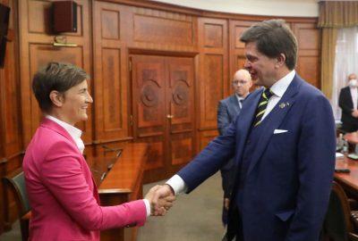 การสนับสนุนที่ชัดเจนของสวีเดนสำหรับการรวมยุโรปของเซอร์เบีย